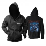 Collectibles Hoodie Megadeth Dystopia Cyborg Black Pullover