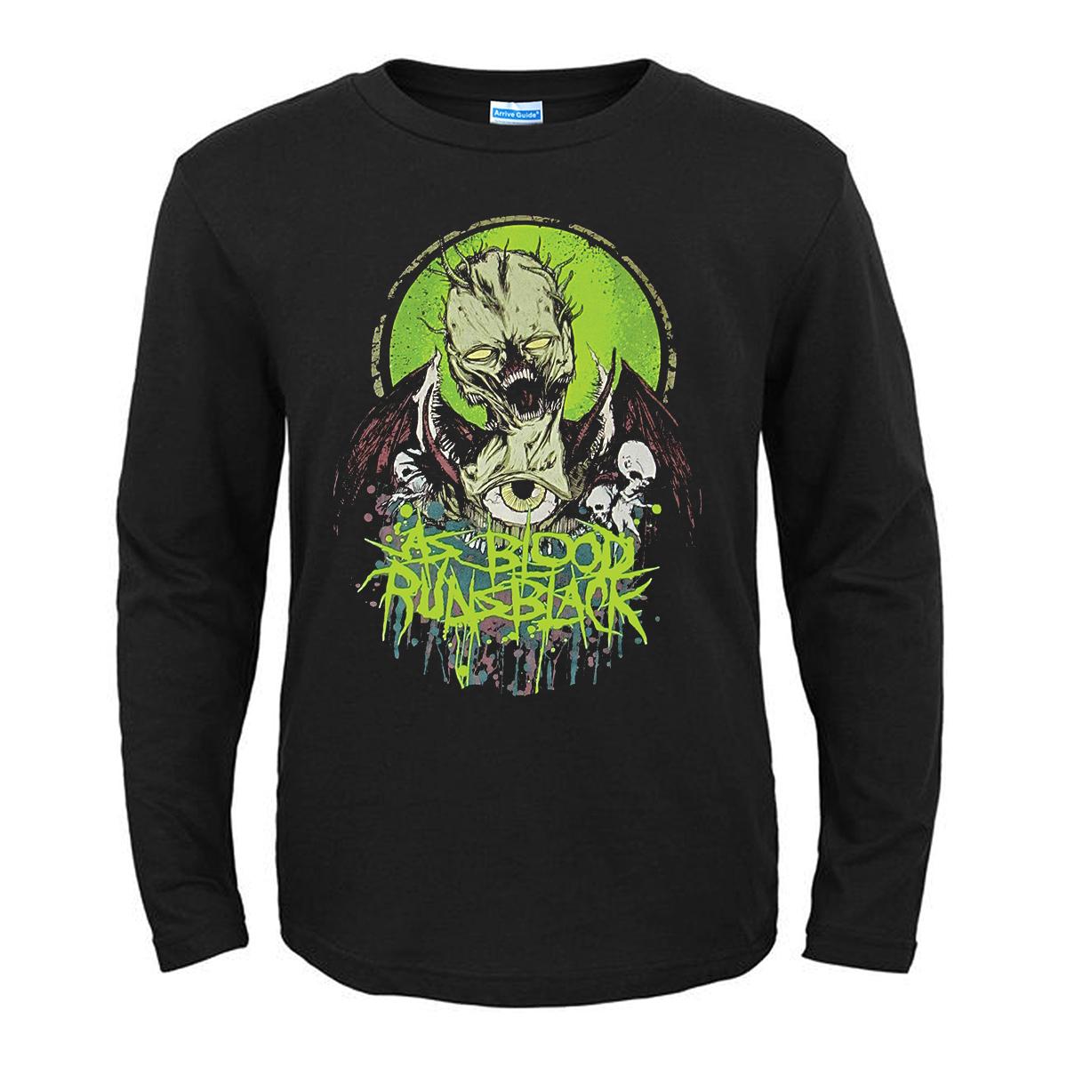 Merch T-Shirt As Blood Runs Black Ghoul