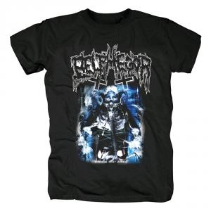 Merch T-Shirt Belphegor Bondage Goat Zombie