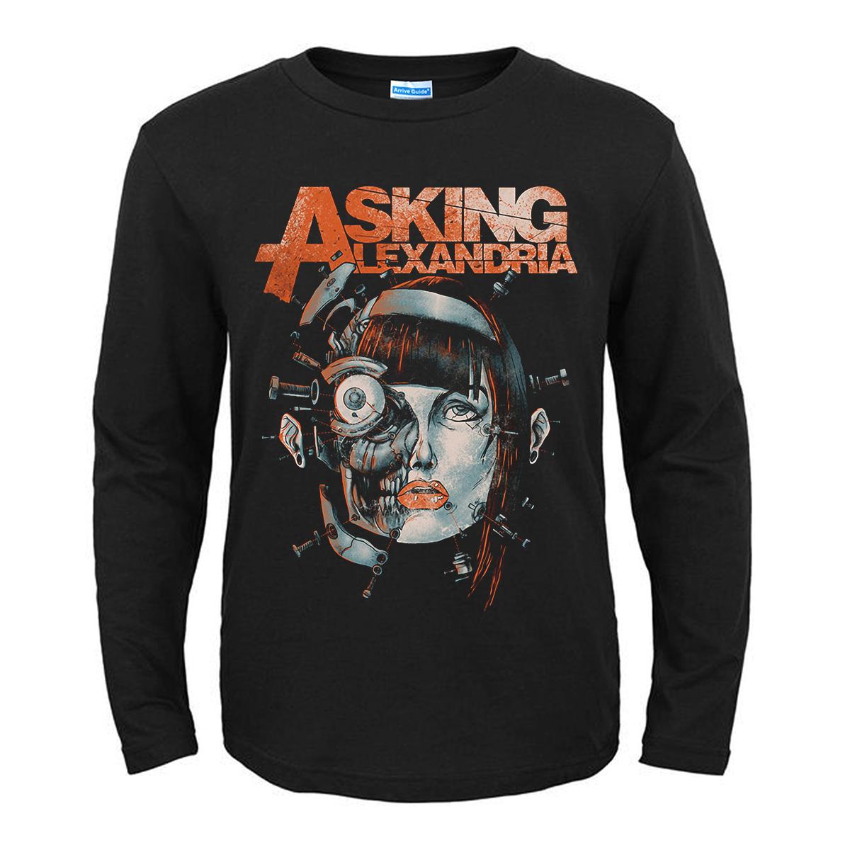 Merchandise T-Shirt Asking Alexandria Face Constructor