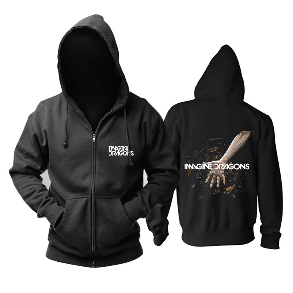 Merch Hoodie Imagine Dragons Friction Pullover