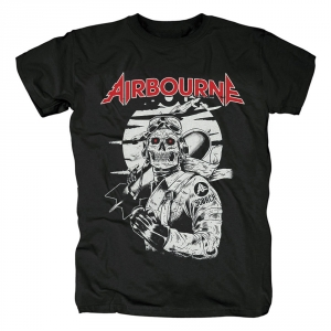 Collectibles T-Shirt Airbourne Scorch Black