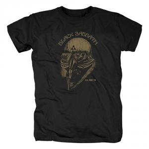 Merch T-Shirt Black Sabbath U.s. Tour Black