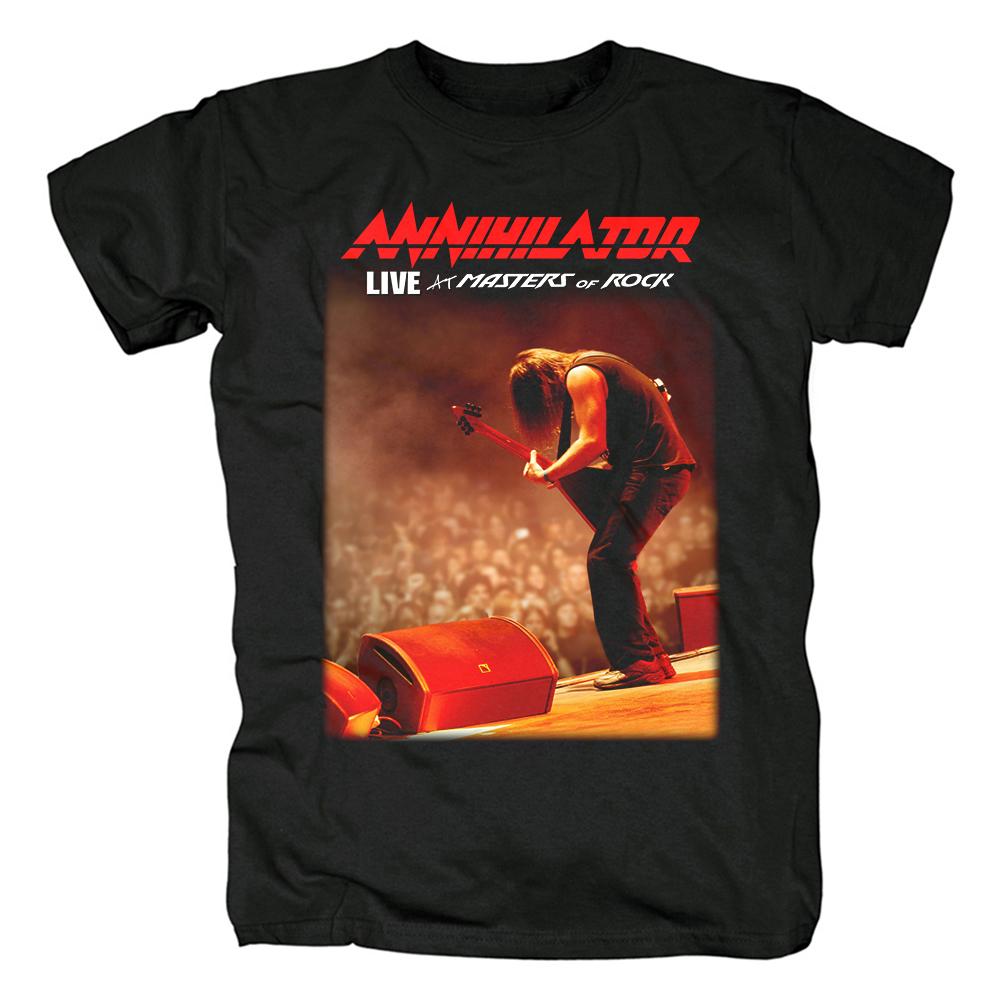 Merch T-Shirt Annihilator Masters Of Rock