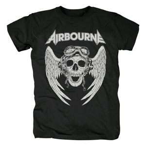 Collectibles T-Shirt Airbourne Logo Black
