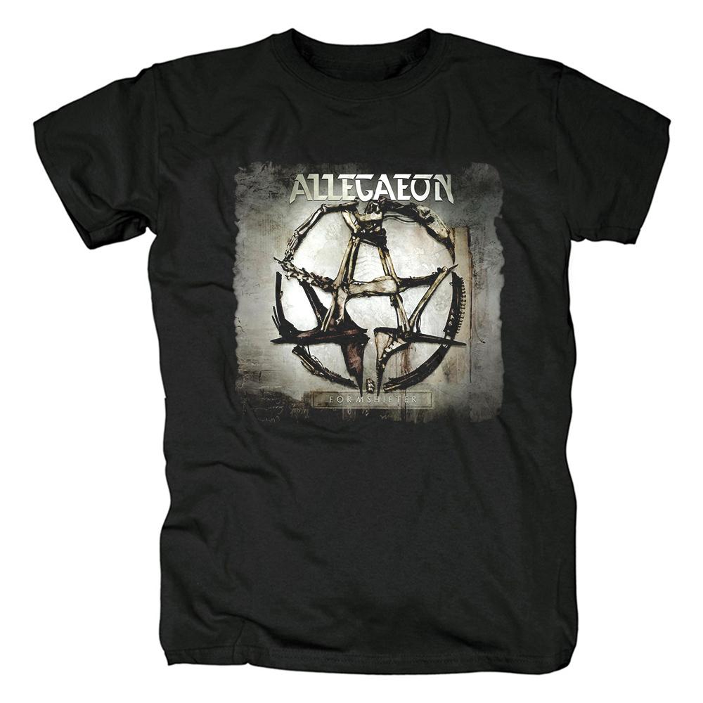 Merch T-Shirt Allegaeon Formshifter Black