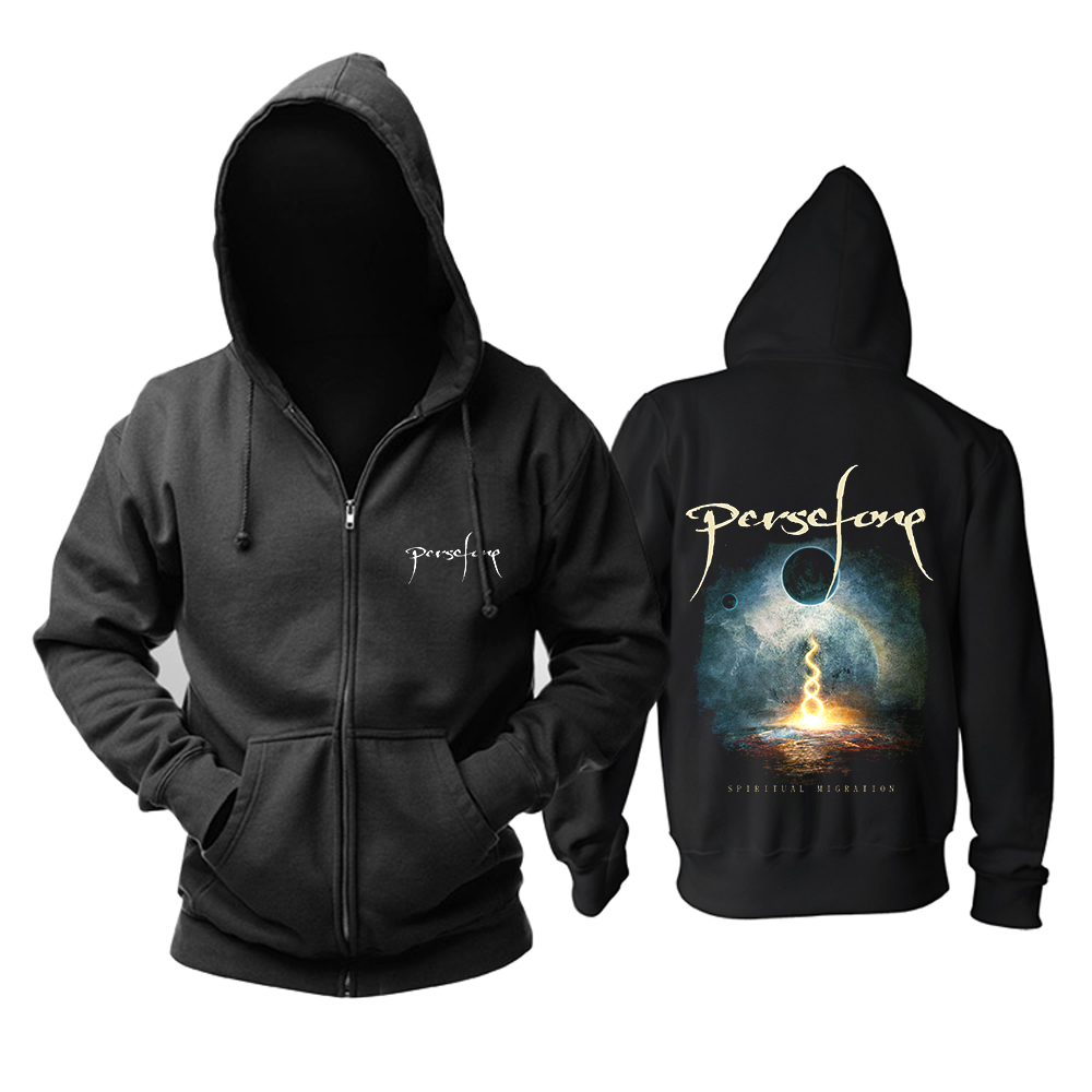 Collectibles Hoodie Persefone Spiritual Migration Black Pullover