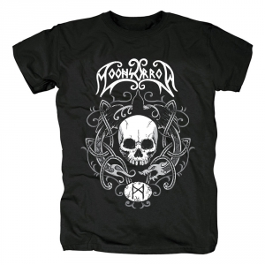 Collectibles T-Shirt Moonsorrow Skull Rune
