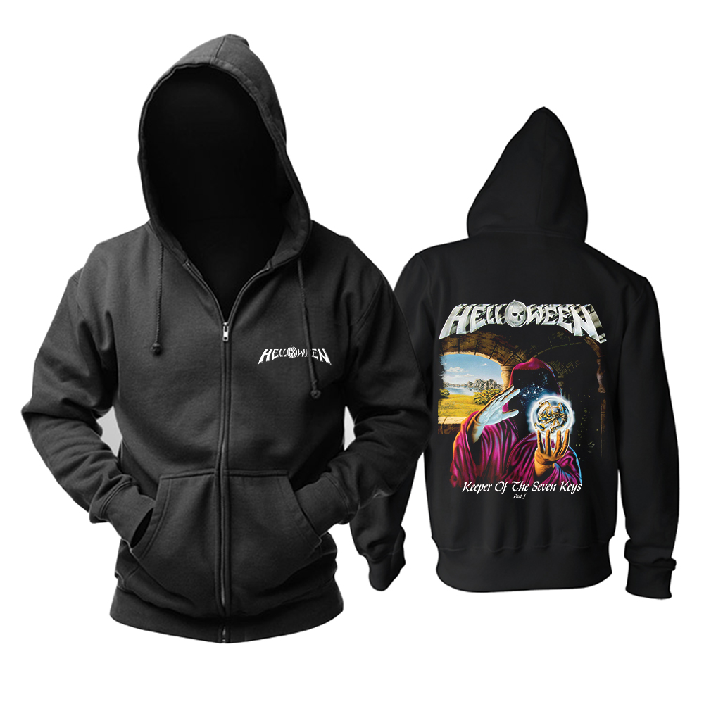 Collectibles Hoodie Helloween Keeper Of The Seven Keys Pt. 1 Pullover