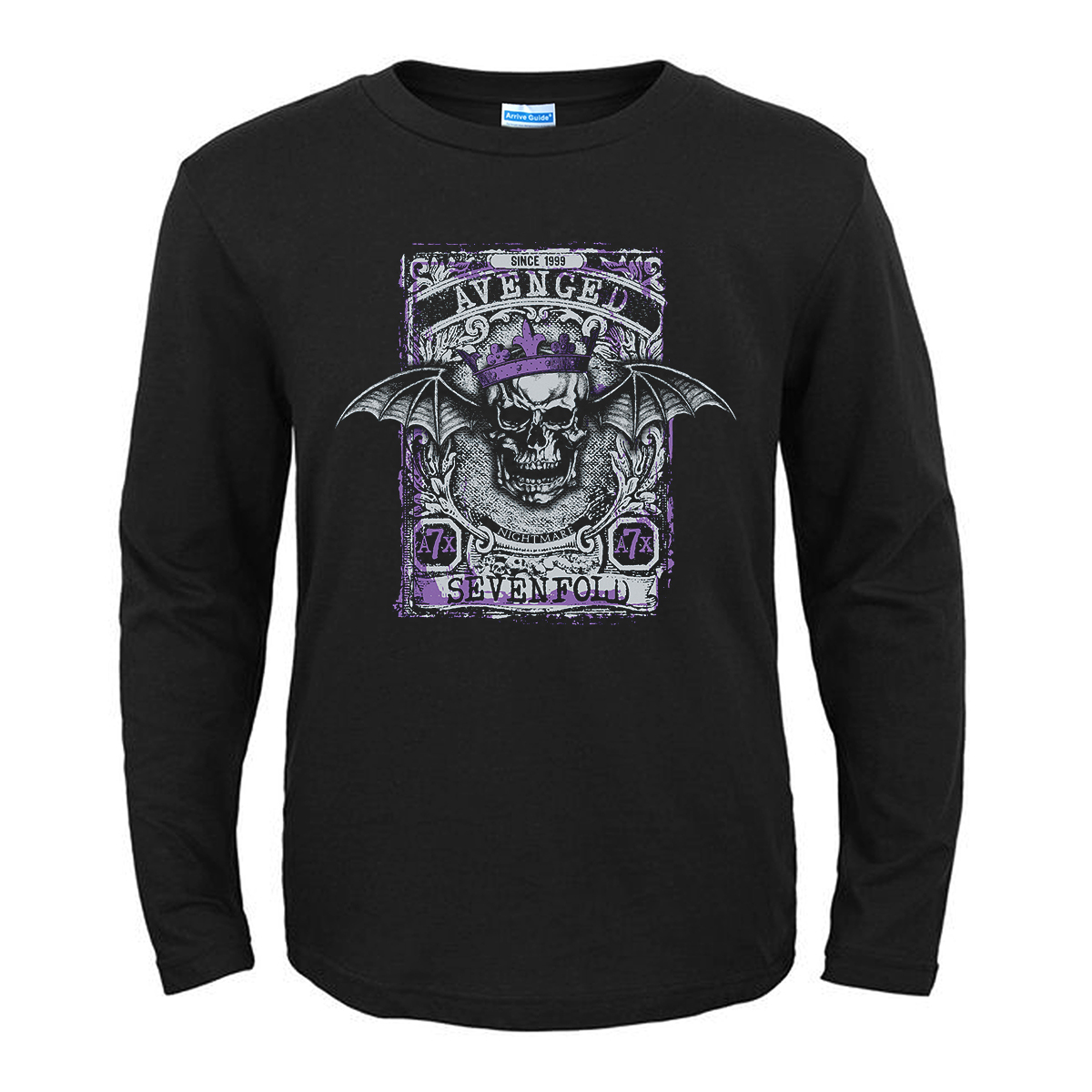 Merch T-Shirt Avenged Sevenfold Nightmare Black