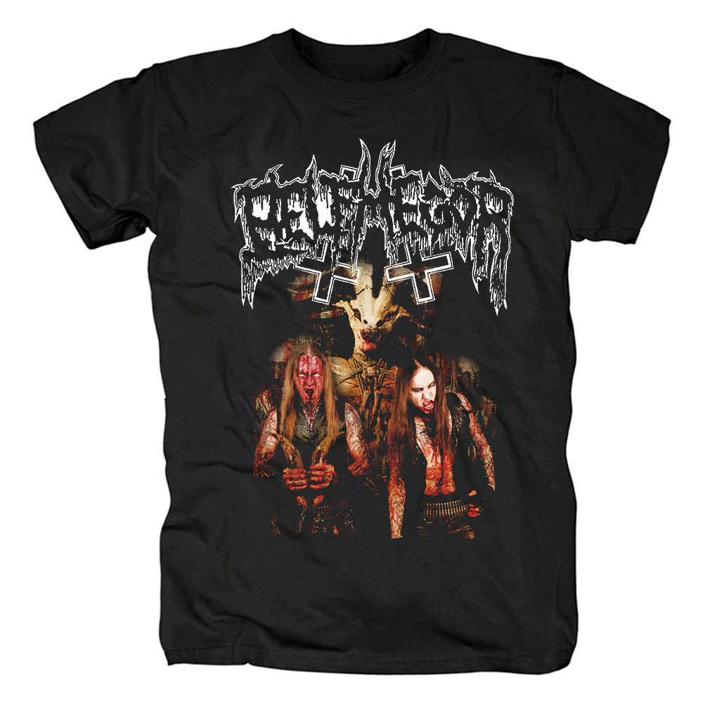 Merchandise T-Shirt Belphegor Bondage Goat Zombie