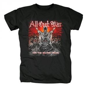 Merch T-Shirt All Out War Into The Killing Fields