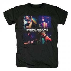 Merch T-Shirt Imagine Dragons Night Visions Live