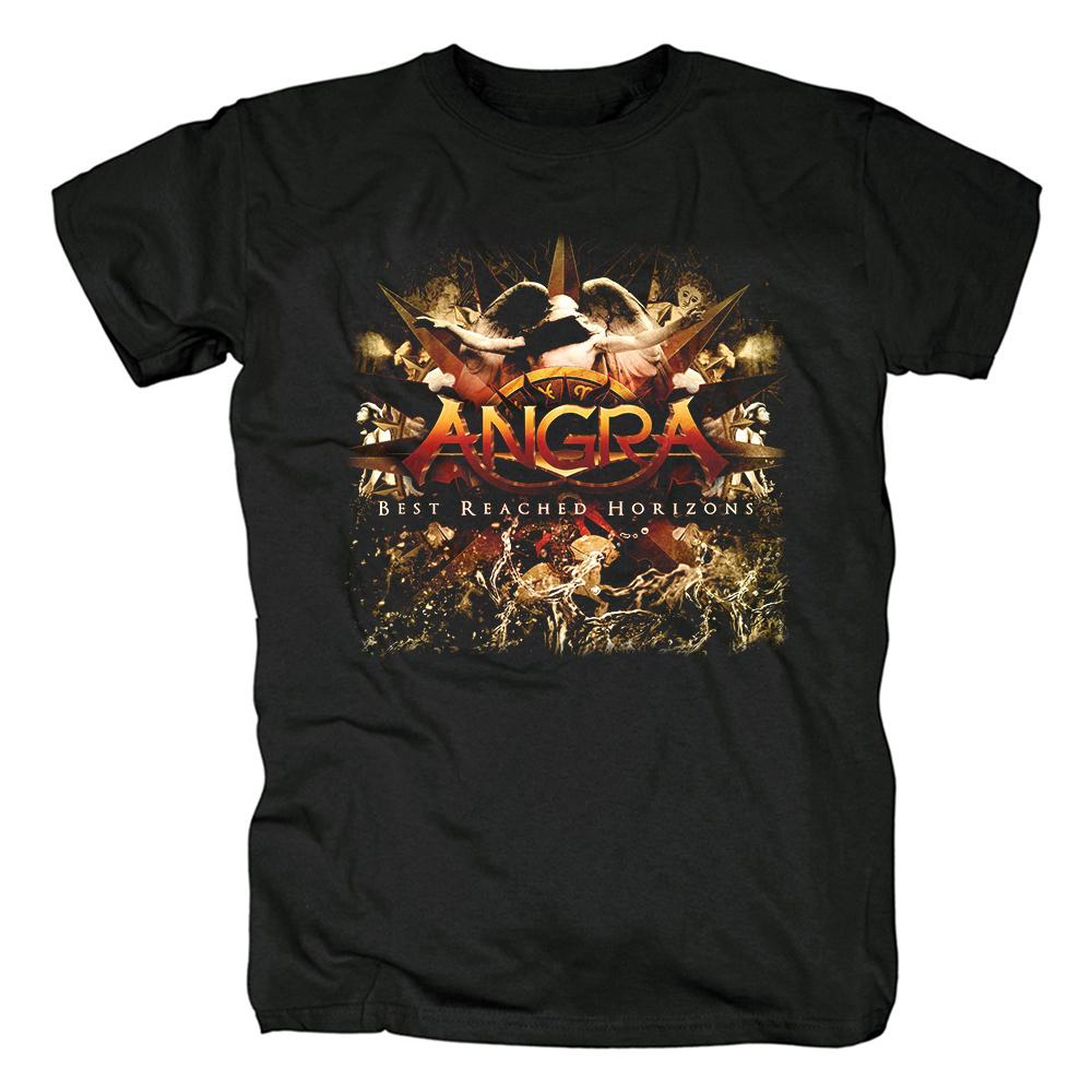 Merch T-Shirt Angra Best Reached Horizons