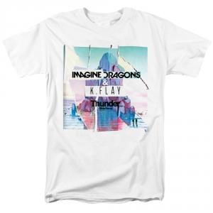 Merch T-Shirt Imagine Dragons &Amp; K.flay Thunder
