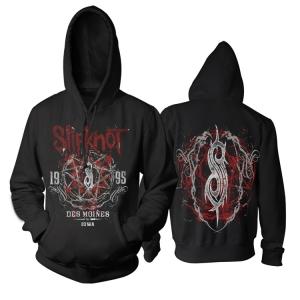Merchandise Hoodie Slipknot Iowa Des Moines Pullover