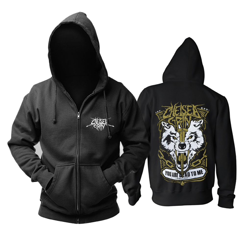 Merchandise Hoodie Chelsea Grin You Are Dead To Me Pullover