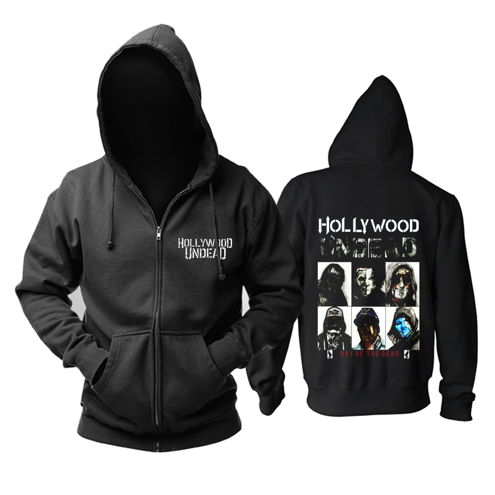 Collectibles Hoodie Hollywood Undead Day Of The Dead Band Pullover