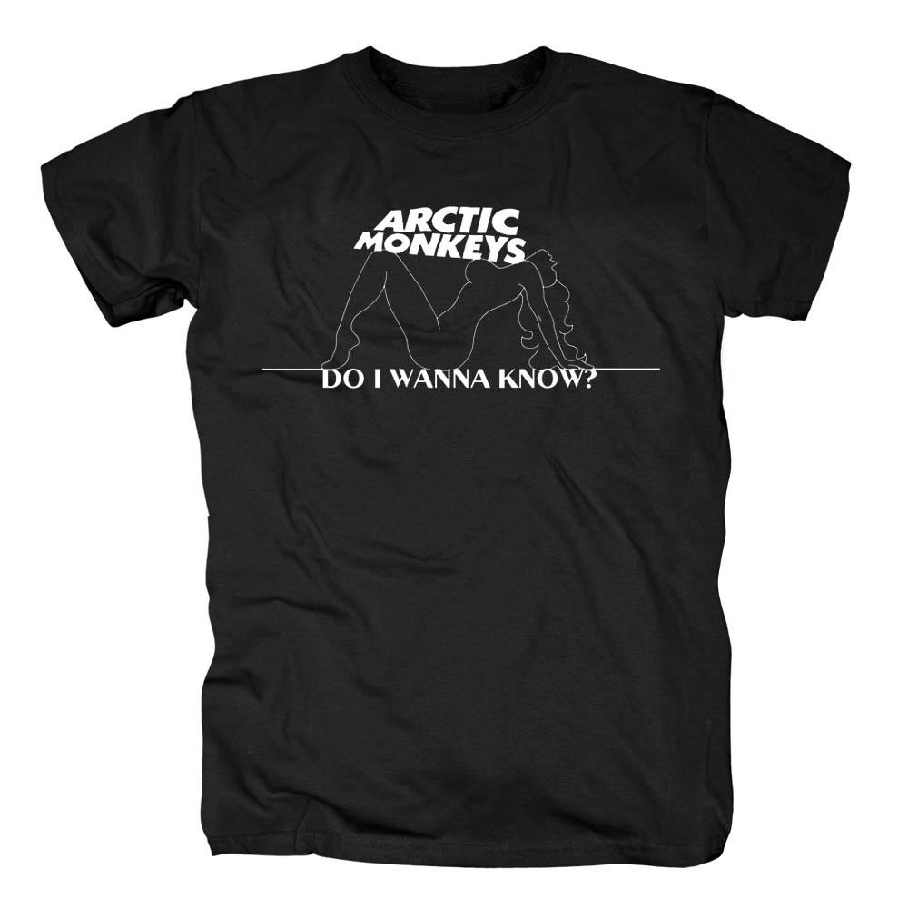 Merch T-Shirt Arctic Monkeys Do I Wanna Know