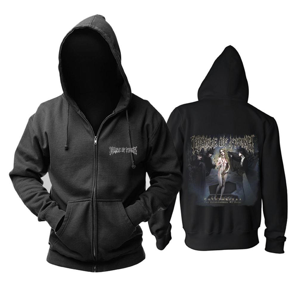 Merchandise Hoodie Cradle Of Filth Cryptoriana The Seductiveness Of Decay Pullover