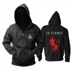 Merch Hoodie In Flames The Jester Race Pullover
