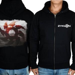 Merch Hoodie Zyklon Logo Black Pullover