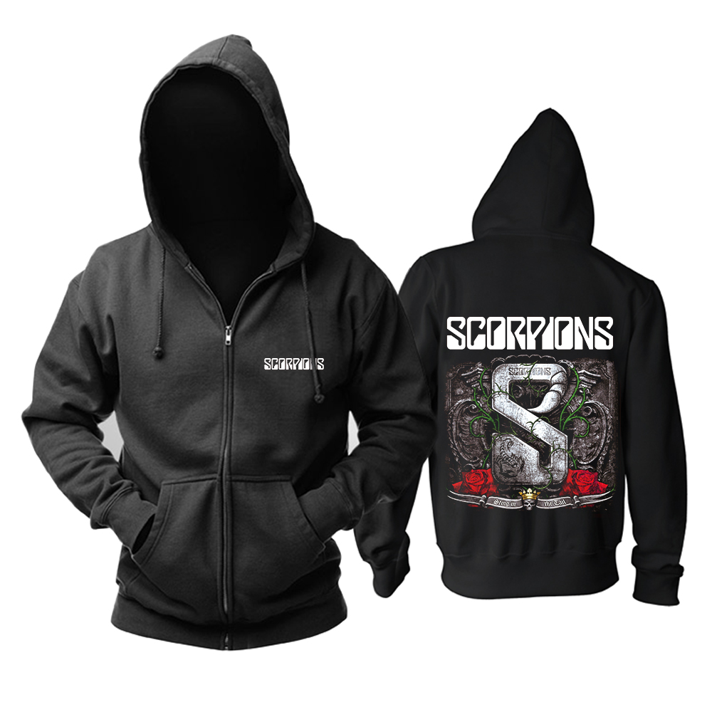 Merchandise Hoodie Scorpions Sting In The Tail Pullover