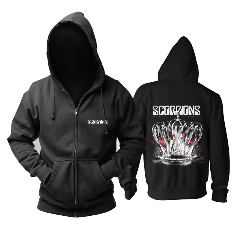 Merch Hoodie Scorpions Return To Forever Pullover