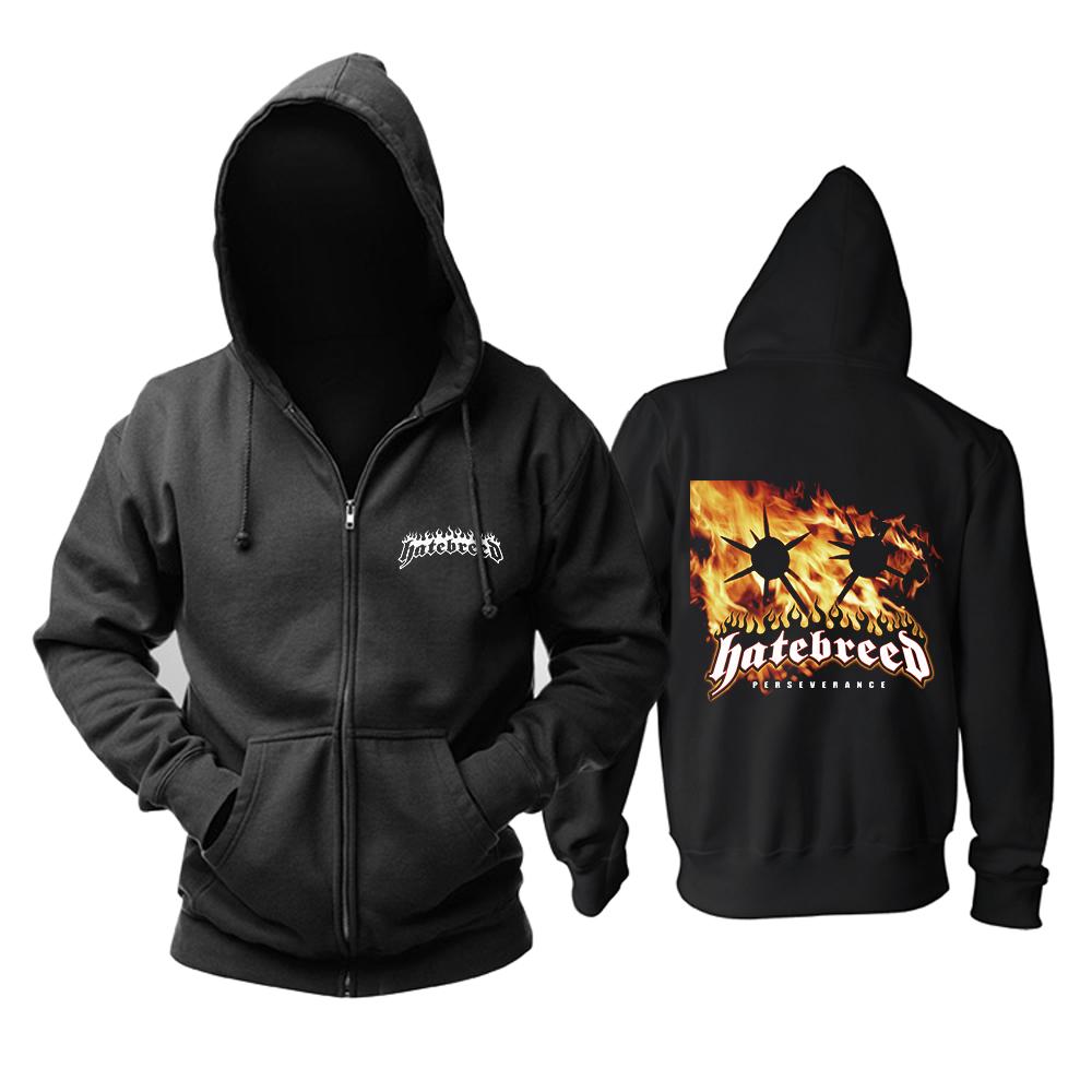 Merchandise Hoodie Hatebreed Perseverance Black Pullover