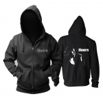 Collectibles Hoodie The Doors Jim Morrison Black Pullover