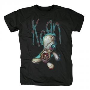 Merch Korn T-Shirt Issues Metal Black Tee