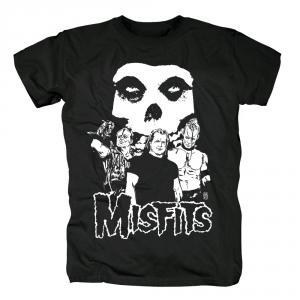 Merch T-Shirt Misfits Punk Rock Band