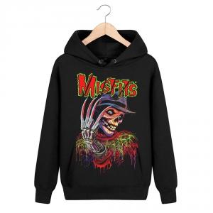 Merch Hoodie Misfits Freddy Black Pullover