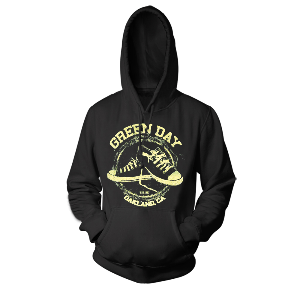 Merch Hoodie Green Day Oakland Pullover