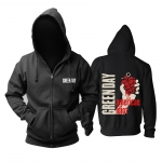 Collectibles Hoodie Green Day American Idiot Pullover
