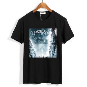 Collectibles T-Shirt Suffocation The Close Of A Chapter