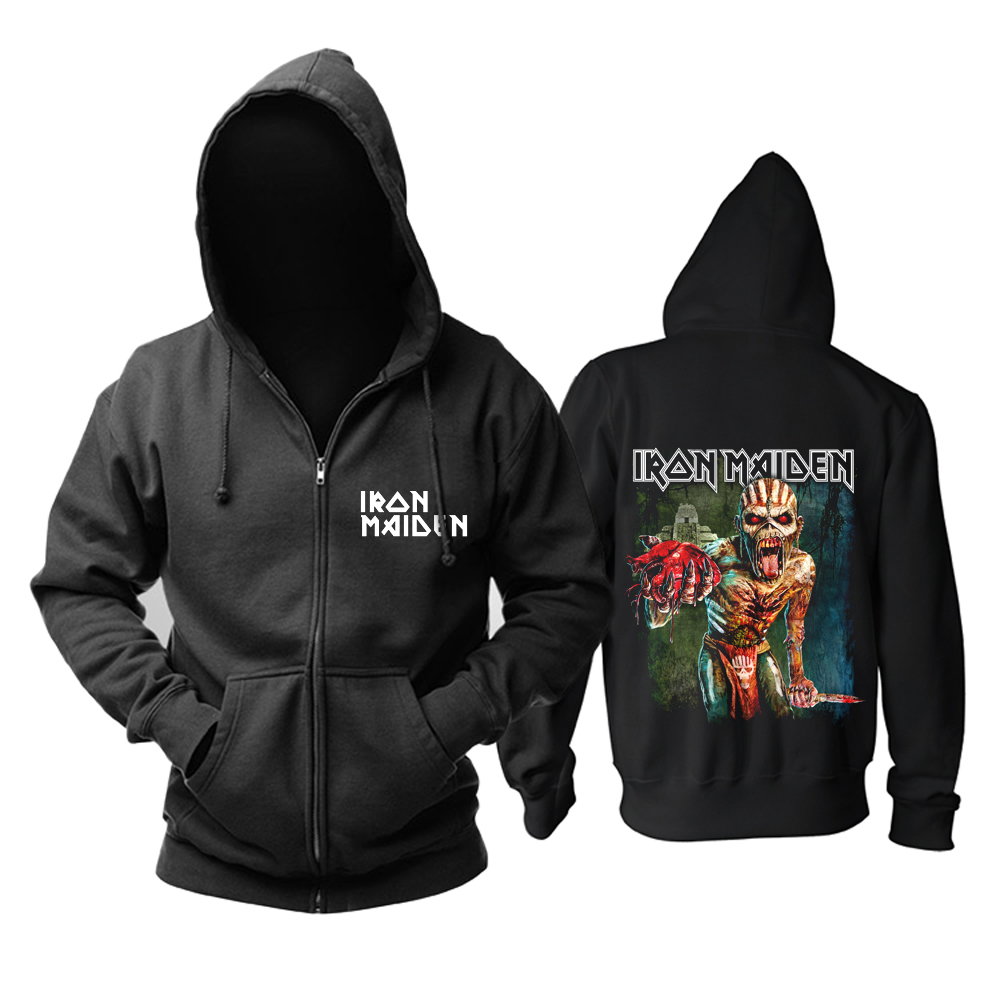 Collectibles Iron Maiden Hoodie Retro Cover Pullover