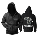 Merchandise Powerwolf Hoodie Heavy Metal Band Pullover