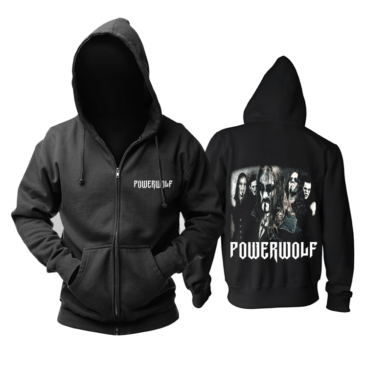 Collectibles Powerwolf Hoodie Heavy Metal Band Pullover