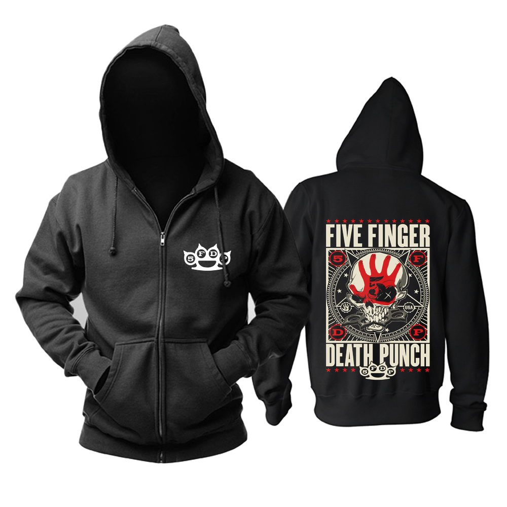 Merchandise Hoodie Five Finger Death Punch Got Your Six Pullover