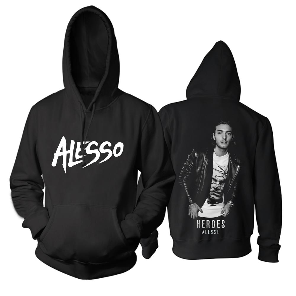 Collectibles Dj Alesso Hoodie Heroes Black Pullover