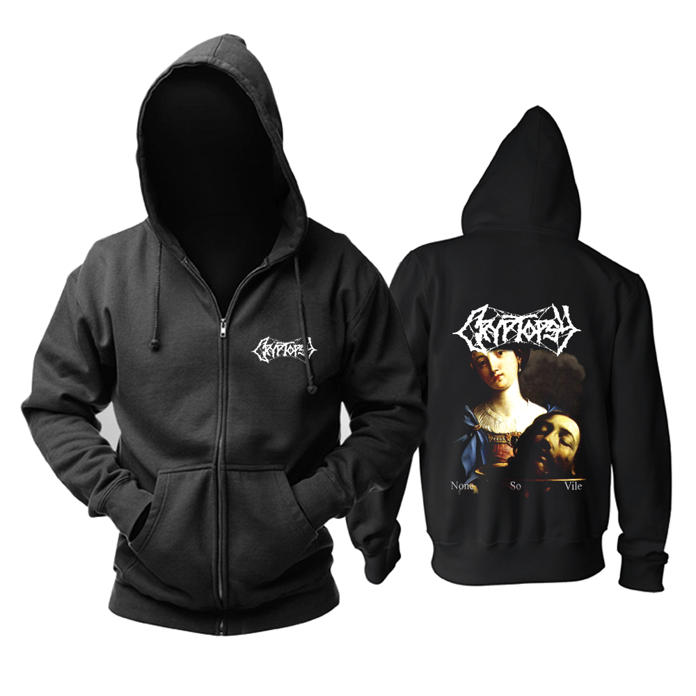 Collectibles Hoodie Cryptopsy None So Vile Pullover