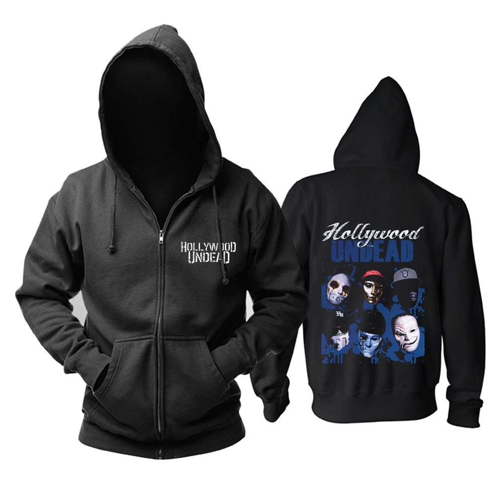 Collectibles Hoodie Hollywood Undead Masks Pullover