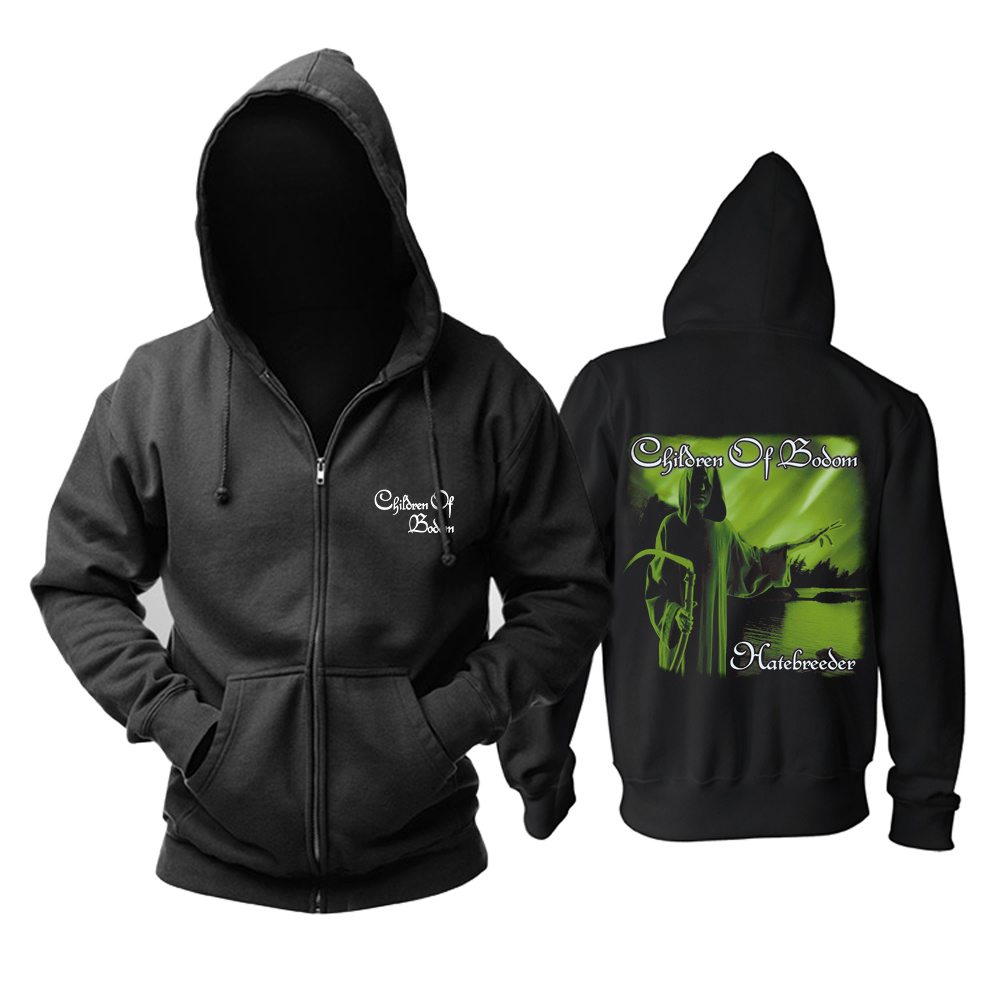 Collectibles Children Of Bodom Hoodie Black Death-Metal Pullover