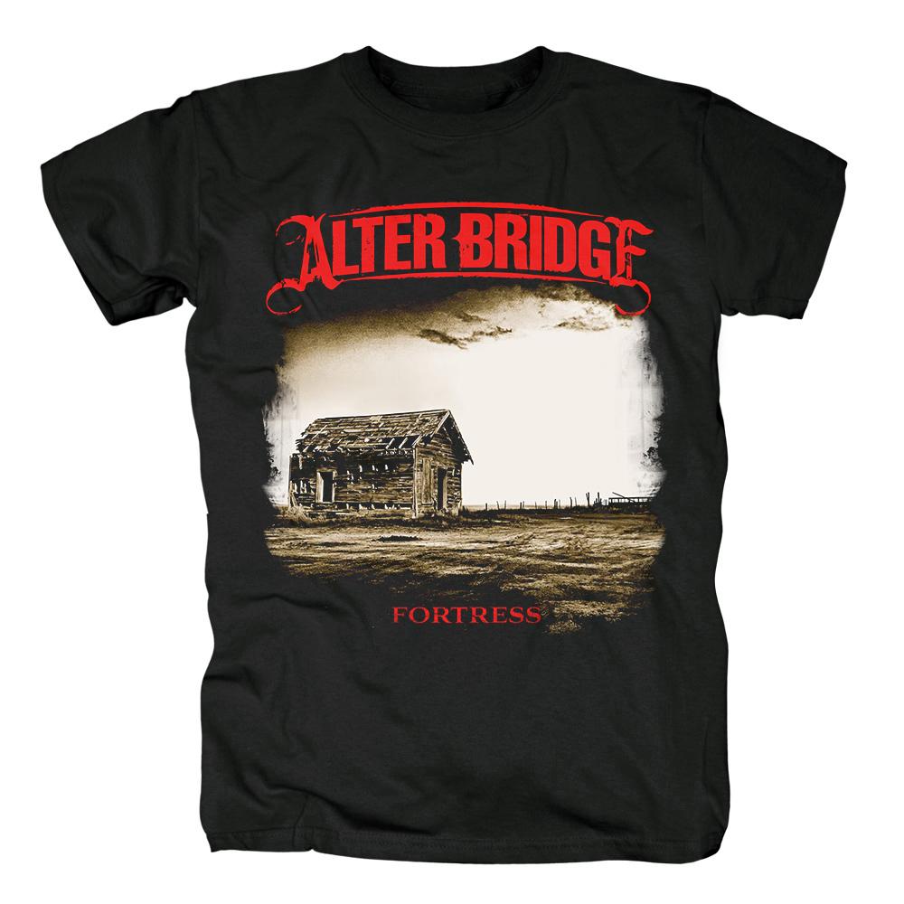 Collectibles T-Shirt Alter Bridge Fortress Black