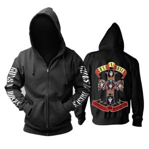 Merch Guns N' Roses Hoodie Appetite For Destruction Pullover