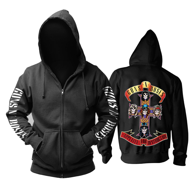 Collectibles Guns N' Roses Hoodie Appetite For Destruction Pullover
