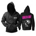 Merchandise - Hoodie Green Day Billie Joe Armstrong