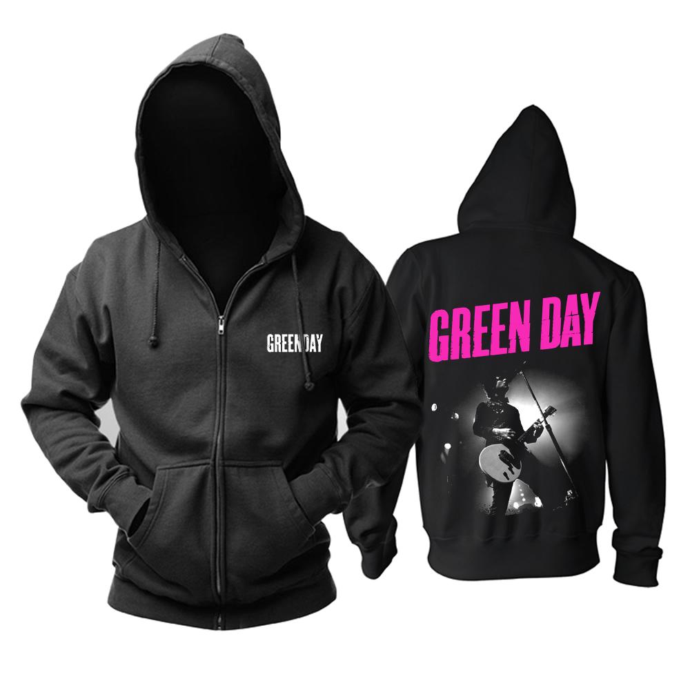 Merch Hoodie Green Day Billie Joe Armstrong Pullover