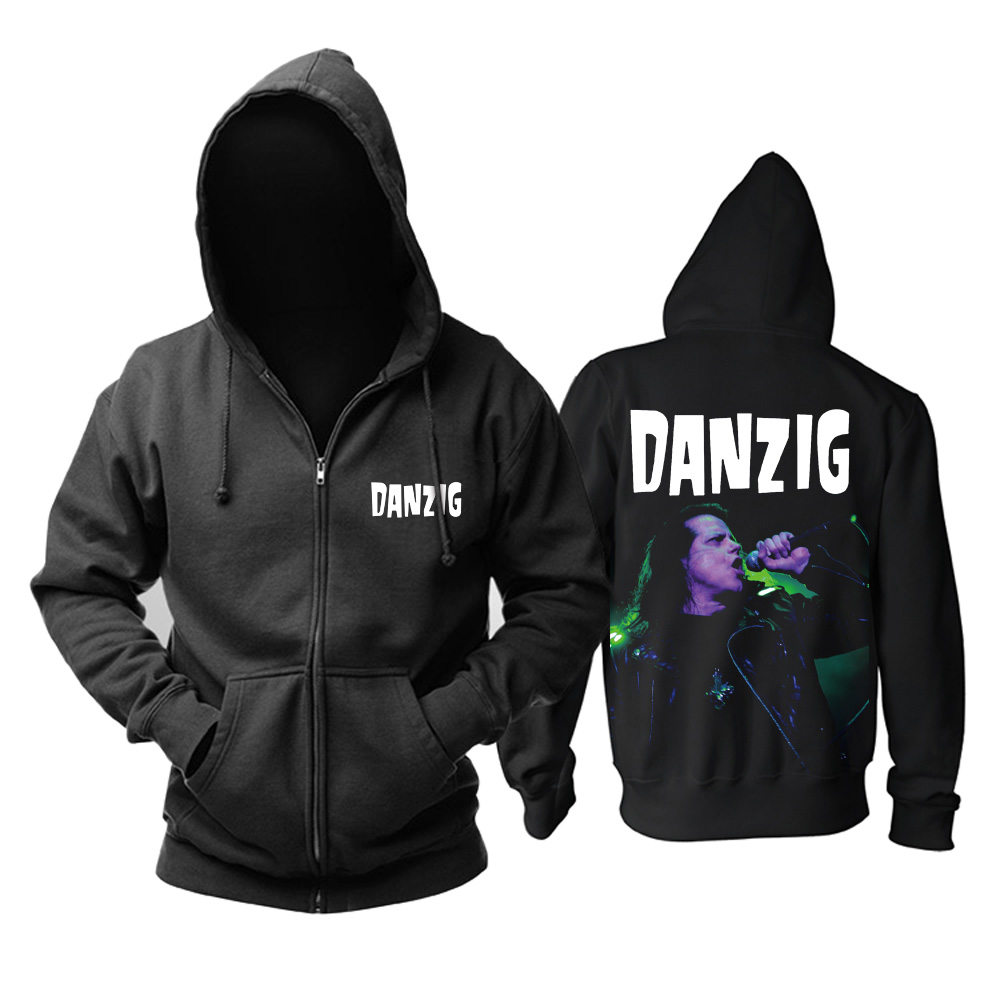 Merch Hoodie Danzig Glenn Danzig Pullover